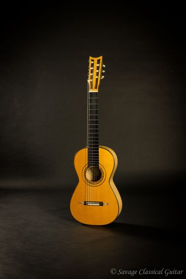 1985 Paul Fischer #592 Panormo Spruce Maple 7 String