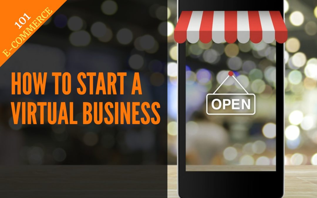 start virtual business graphic