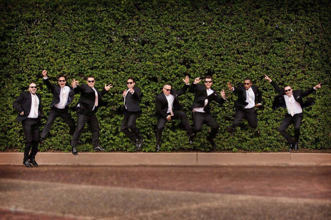 best men wedding picture