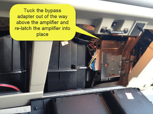 SHA    Bypass Factory AmpCrossover in 2002 Chevy Tahoe