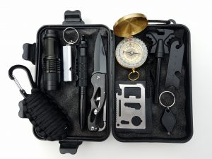emergency survival fishing kit