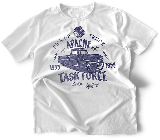 Apache Shirt White Men