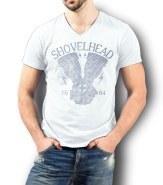 Shovel T-Shirt White