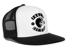 Let's Ride Trucker Cap Black