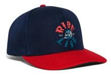 R2L Snapback Cap Navy Red