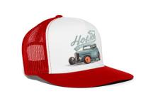 Ride The Devil Trucker Cap Red