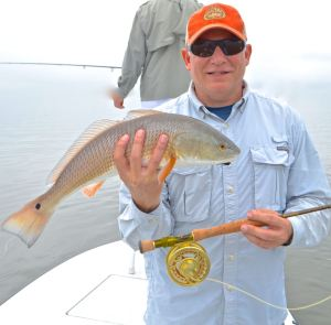 fly fishing for reds in south carolina