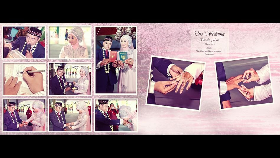the wedding esti fais 1