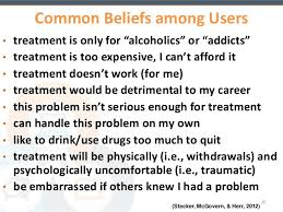substance abuse treatment myths