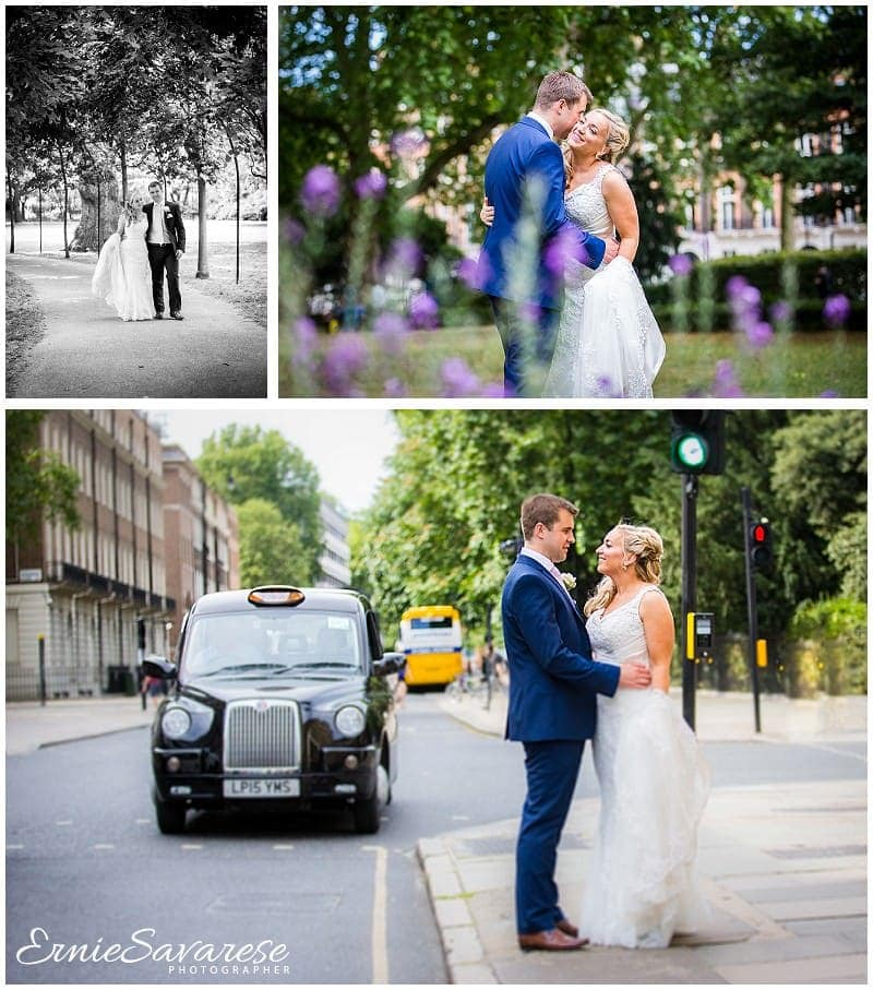 Wedding Photographer London Montague Gardens Hotel