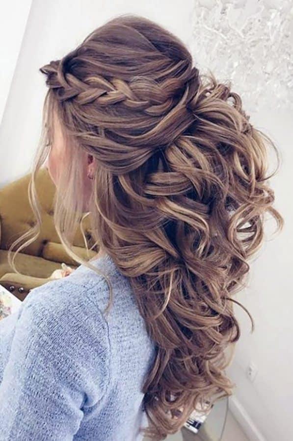 Einfache Frisuren Hochzeitsgäste ideen