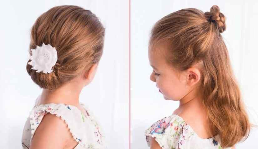 Einfache Frisuren Mädchen Inspirationen