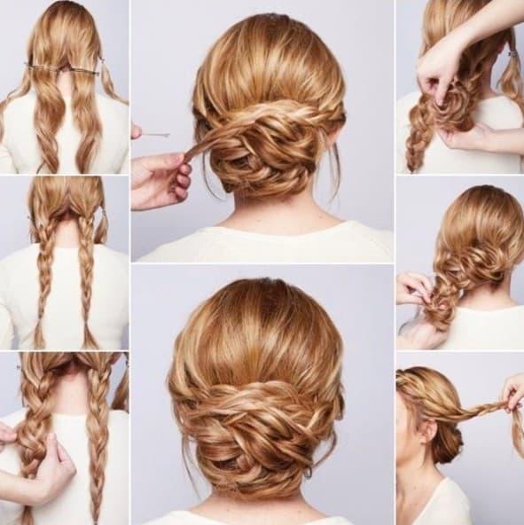 Bilder Einfache Frisuren mit Anleitung