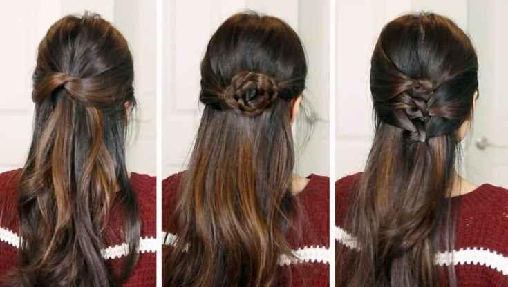 Festliche Frisuren Halboffen Anleitung