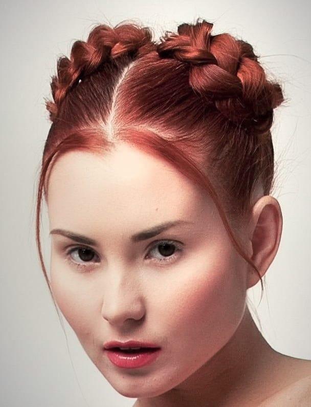 Genial Frisuren Mittellang Zopf Ideen