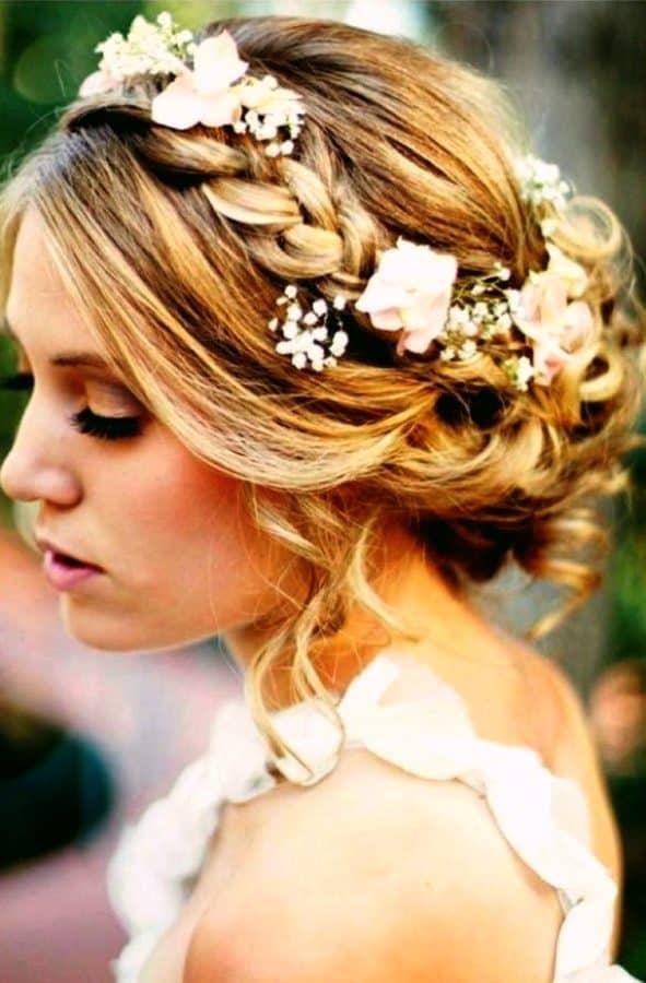 28 Ziemlich Festliche Frisuren Inspirieren Sie Ihren Hochzeitstag