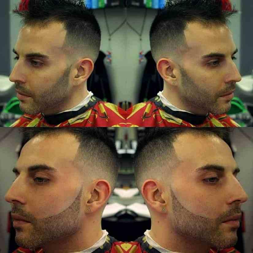 Tolle Frisuren für Dünnes Haar Männer Bilder Faux Hawk für dünnes Haar