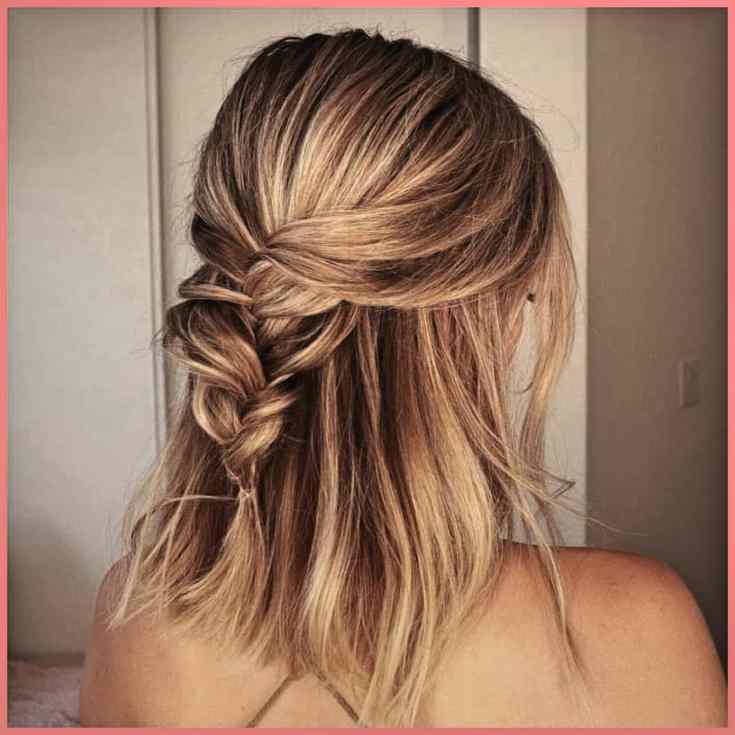 Gelebtes Geflecht Mittellange Haare Stylen Frauen