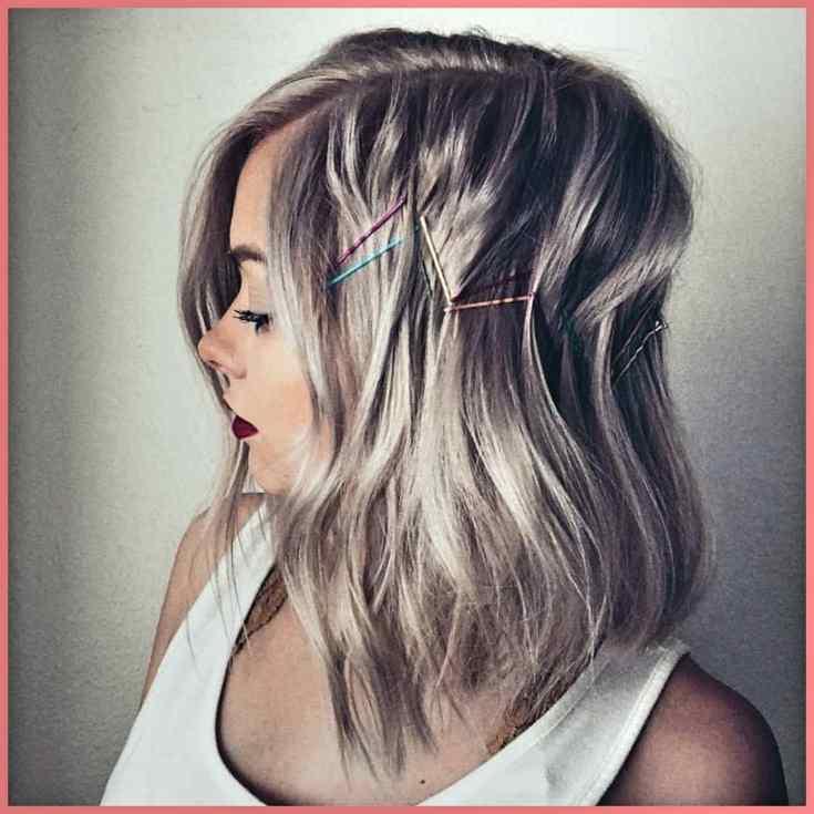 Wunderschönen Festival-Haare Mittellange