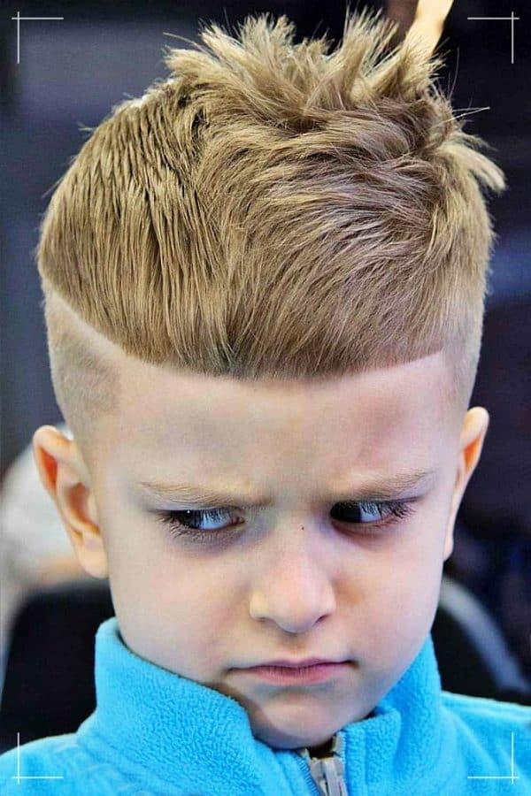 Cool Unordentlich Kinder Kurzes Haar