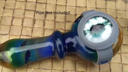 Save-A-Bowls are non-toxic silicone bands that cover the bowl of smoking pipes.
