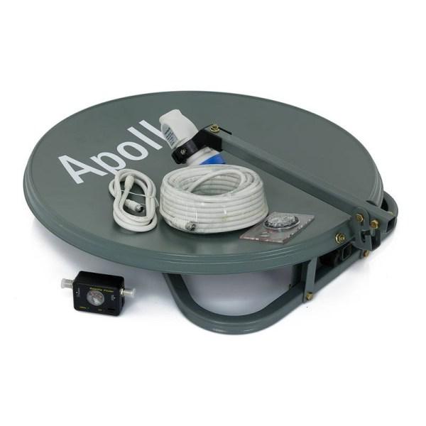 Apollo Portable Satellite Antenna 50cm with Stand