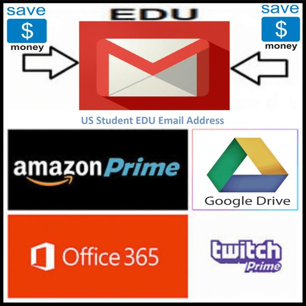 US Student EDU Email Address