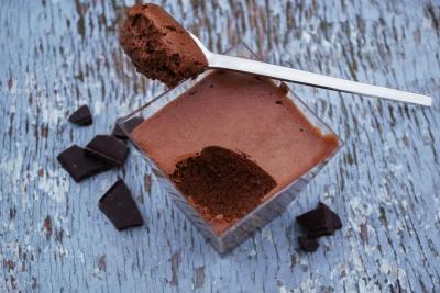 Mousse au chocolat au jus de pois chiche save eat