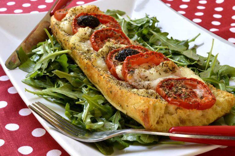 Baguette façon pizza Save Eat