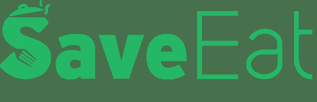 logo startup app mobile save eat
