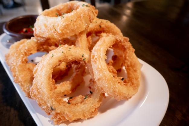 Oignons germés tempura save eat