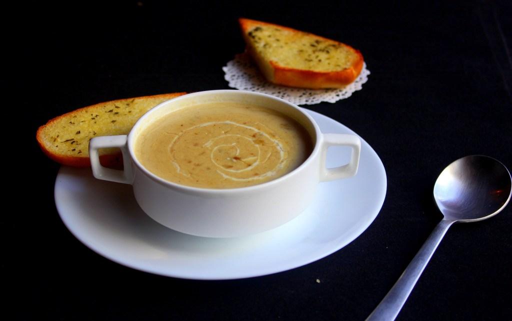 Cuire les marrons et faire la recette de potage aux marrons de Save Eat