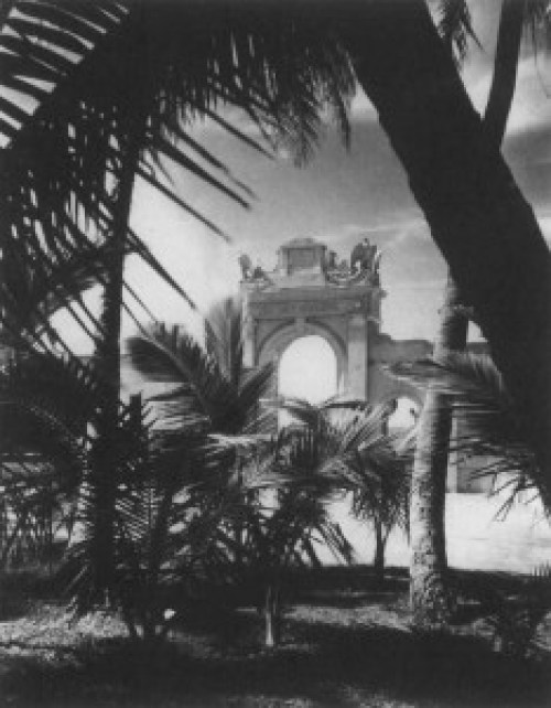 Figure 3-Entrance Arch, Undated HSA