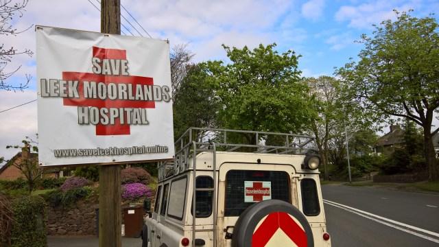 Save Leek Hospital Banner