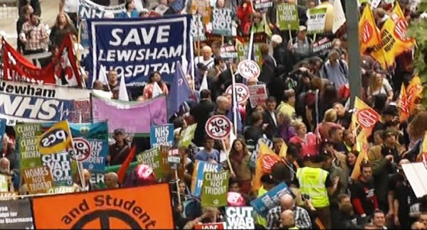 We are fighting for the NHS
