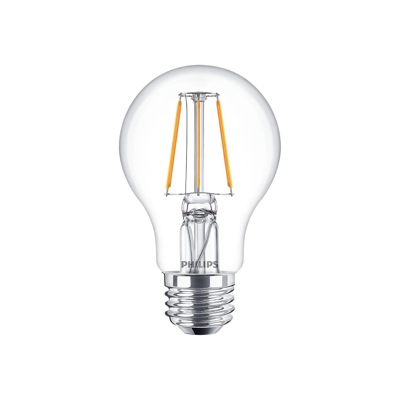 Philips Led Filament Bulb Clear A60 E27 4w K