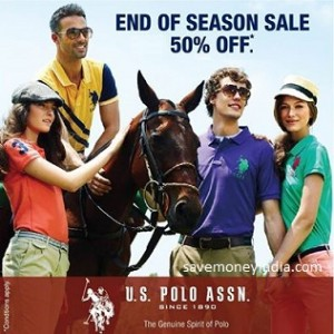 U.S. Polo Assn. Clothing 50% off or more from Rs. 209 – Amazon image