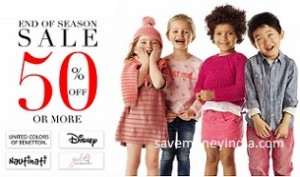 Kids Clothing & Footwear 50% off or more from Rs. 89 – Amazon image