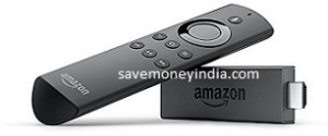Amazon Fire TV Stick with Voice Remote + Rs. 350 Cashback + Rs. 499 Cashback Rs. 3499 – Amazon image