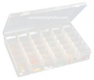 KM 36 Grid Cells Storage Box Rs. 155 – Amazon image