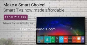TVs upto 53% off + upto Rs. 35000 off (Exchange) – FlipKart image