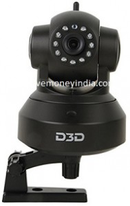 D3D Wireless HD IP WiFi CCTV Indoor Security Camera D8801 Rs. 2799 – Amazon image