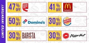 Food & Drinks upto 50% off from Rs. 50 – LittleApp image