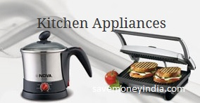 Nova Appliances 50% off or more from Rs. 749 – Amazon image