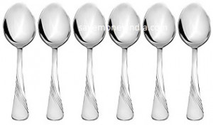 Solimo Table Spoon Set of 6 Rs. 249 – Amazon image