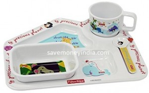Fisher Price Dinner Set of 4 Rs. 567 – Amazon image