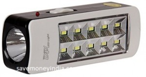 DP 2W Emergency Light with Torch Rs. 229 – Amazon image