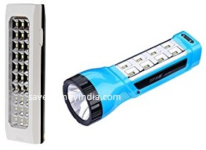 DP Emergency Lights upto 50% off from Rs. 160 – Amazon image