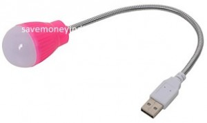 Forzza Cara Flexible USB LED Light FO-TL009-Pi Rs. 60 – Amazon image
