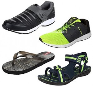 Super Men's Footwear Combos 50% off or more from Rs. 497 – Amazon image